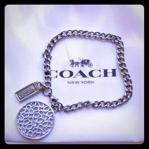 Coach Signature C charm Bracelet